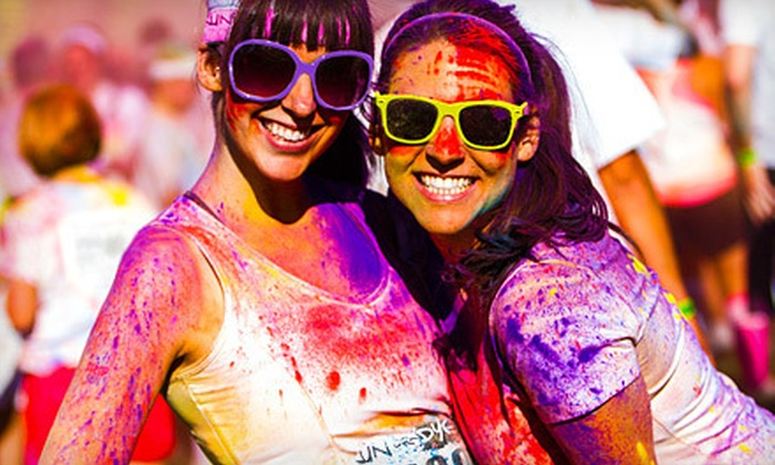 Run or Dye - Downtown: 5K Race Entry for One or Two at Run or Dye (Up to 53% Off)
