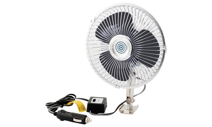 12 Volt Fans For Rv : Pro lift oscillating auto fan groupon goods