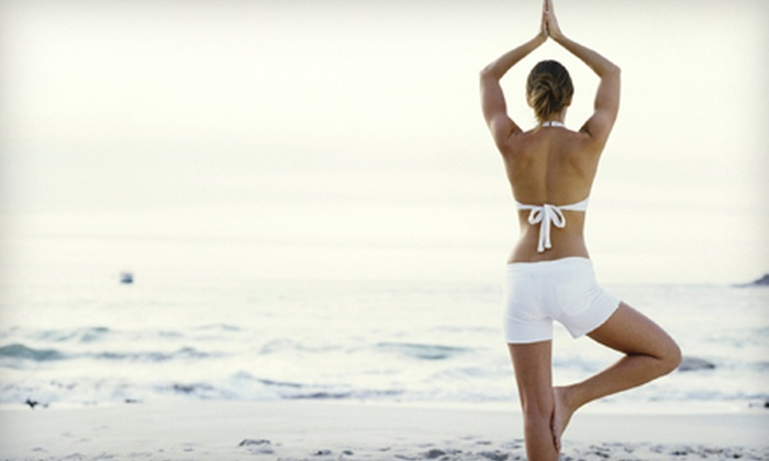 Prana Power Yoga - Multiple Locations: 10 Classes or One Month of Unlimited Classes at Prana Power Yoga (Up to 57% Off)