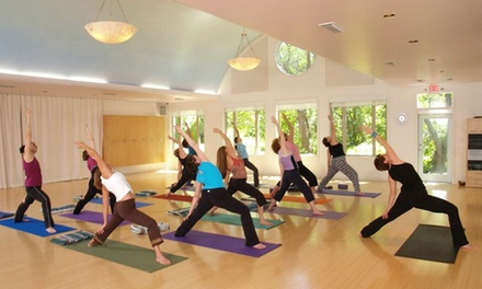 Five or Ten Yoga and Fitness Classes at Urban Temple Studio (Up to 54% Off)