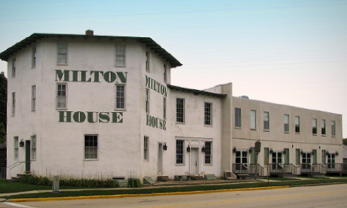 The Milton House - Indian Heights: Tour for Four or Six at The Milton House (Up to 56% Off)