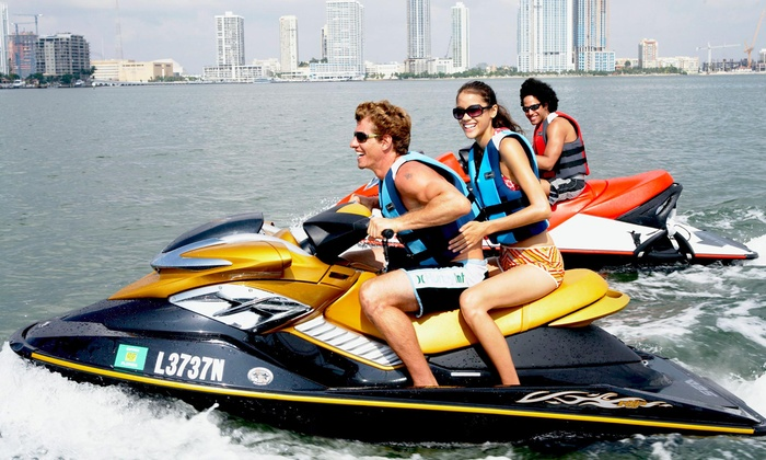 ATX Jet Skis - Austin: One- or Two-Hour Jet-Ski Rental for Two at ATX Jet Skis (Up to 60% Off)