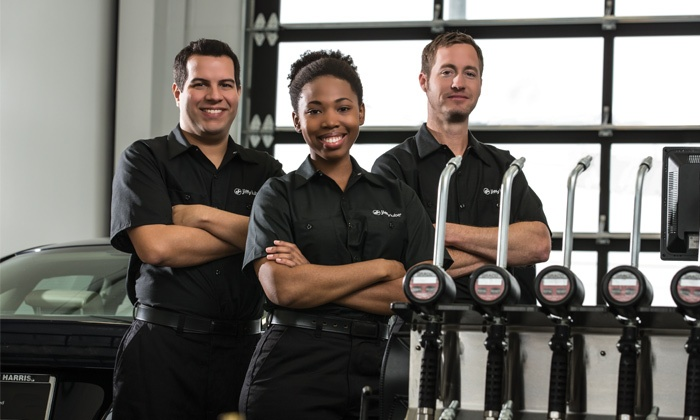 Jiffy Lube - Winchester: $36 for a Signature Service Oil Change, Tire Rotation, and Fluid Top-Off at Jiffy Lube ($68.98 Value)