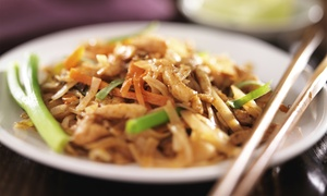 Siam Taste Noodles: Thai Food at Siam Taste Noodles (Up to 45% Off). Two Options Available.