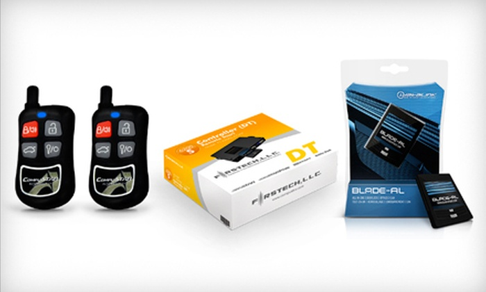 The Stereo Shop - Multiple Locations: $199 for Remote Car Starter with Keyless-Entry System and Interface-Module Installed at The Stereo Shop ($400 Value)