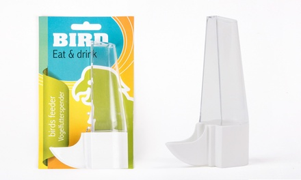 Bird Rectangle Food and Water Feeder for £1.99