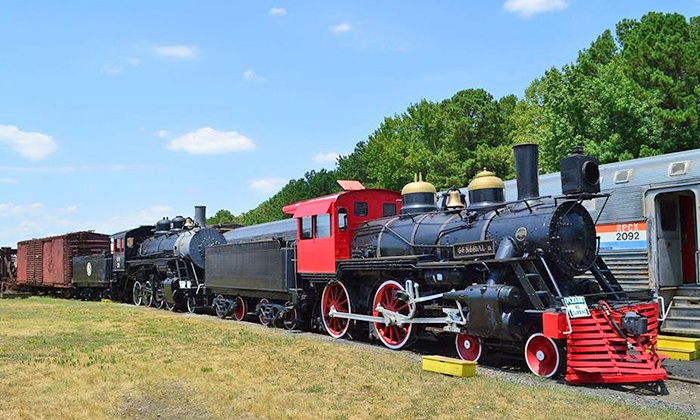 Southeastern Railway Museum - Duluth: Railway Museum Visit and Train Ride for Two, Four, or Six at Southeastern Railway Museum (38% Off)