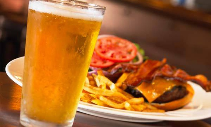 NASCAR Sports Grille - Briarfield: $15 for Grill Meal with Two Entrees and One Appetizer at NASCAR Sports Grille in Hampton ($29 Value)