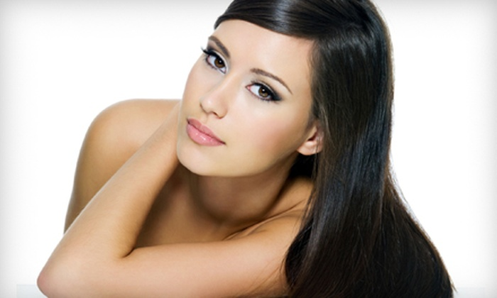Hair Creations - Harrison: Full Keratin Treatment, or Express Keratin Treatment with Haircut and Optional Color at Hair Creations (Up to 76% Off)