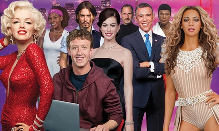 Madame Tussauds Visit for Two, Four, or Six (Up to 44% Off)