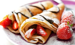 Babylon Crepe and Pita Grill: Up to 42% Off Pitas and Crepes! at Babylon Crepe and Pita Grill