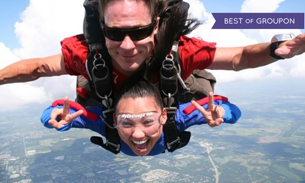 $149 for a Tandem Skydiving Jump at North East Skydive ($299.99 Value)