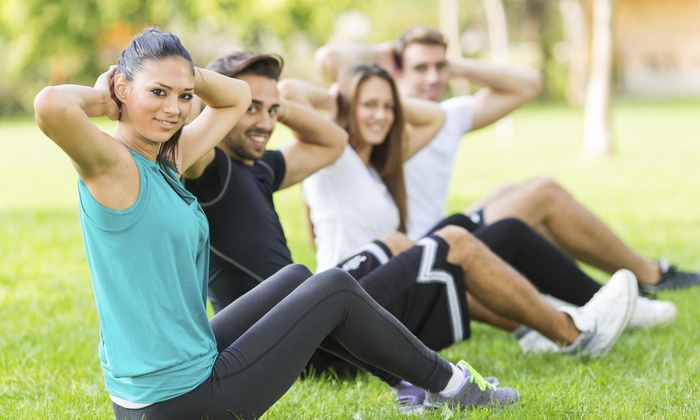 The Burning Zone Club - Shippan Point: Five Boot-Camp Classes at The Burning Zone Club (45% Off)