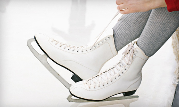 Oregon Community Sports Arena - Rolling Meadows: Ice Skating for Two or Four with Skate Rental and Hot Chocolate at Oregon Community Sports Arena (53% Off)