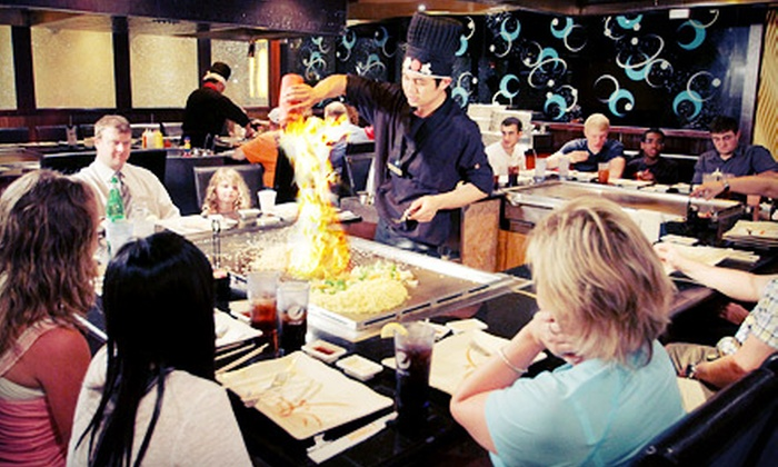 Fusion Steakhouse - Grove City: $15 for $30 Worth of Asian Dinner Cuisine and Drinks for Two at Fusion Steakhouse