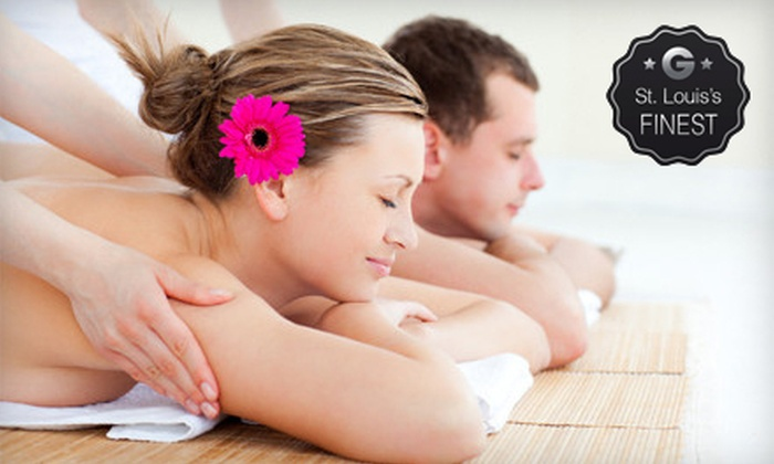 STL Massage Services - Multiple Locations: $99 for a 70-Minute Swedish or Deep-Tissue Couples Massage at STL Massage Services ($200 Value)