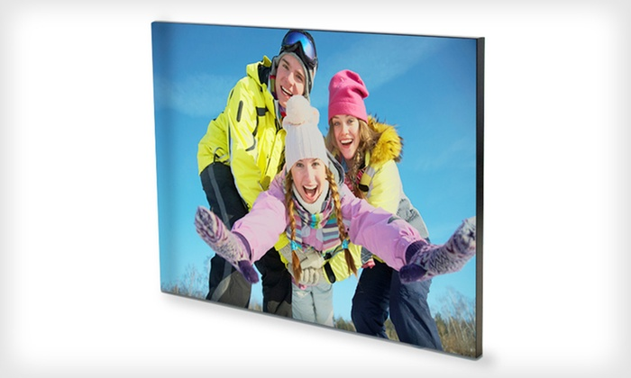"Custom Photo Aluminum Print: $39 for an 18""x23"" Custom Photo Aluminum Print from Gallery Direct with Shipping Included ($142.99 Value)"
