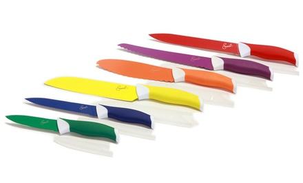Emeril 12-Piece Colored Knife Set