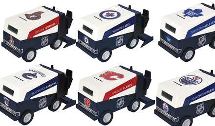 NHL Model Zamboni Banks
