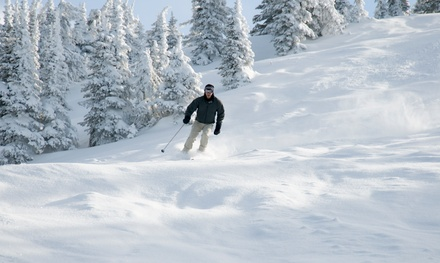 2-Night Ski and Stay Package at Holiday Mountain Resort in La Rivière, MB.