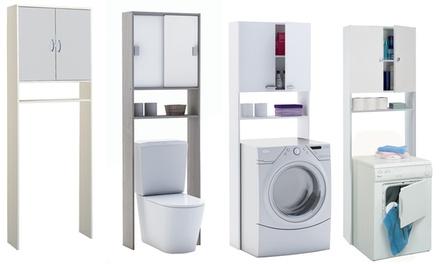 Mobili da bagno per lavatrice groupon goods for Mobiletti piccoli da bagno