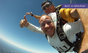 Skydive South Shore: $149 for a Tandem-Skydiving Experience for One from Skydive South Shore ($269 Value)