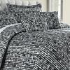 6-Piece Hotel New York Reversible Bamboo-Print Comforter Set