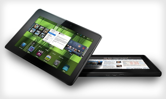 "Blackberry PlayBook 64GB 7"" Tablet: $136.99 for Blackberry PlayBook 64GB 7"" Tablet (Manufacturer Refurbished) ($299 List Price). Free Shipping and Returns."