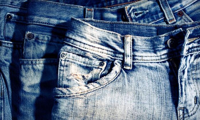 Pure Jeanius - Okotoks: $39 for $100 Worth of Designer Jeans at Pure Jeanius