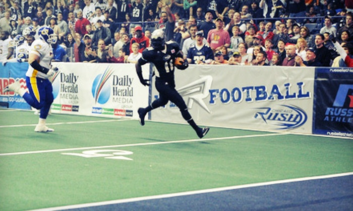 Chicago Rush - Rosemont: Two Tickets to See Chicago Rush Arena Football at Allstate Arena in Rosemont on April 7 at 7 p.m. Two Options Available.