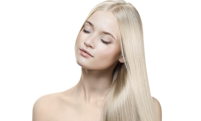 L Studio - Red Bank: Keratin or Express Keratin Treatment at L Studio (Up to 51% Off)