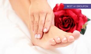 Gabinet Laura: Pielęgnacja dłoni i stóp: dowolny manicure (39,99 zł) lub pedicure (49,99 zł) i więcej opcji w Gabinecie Laura