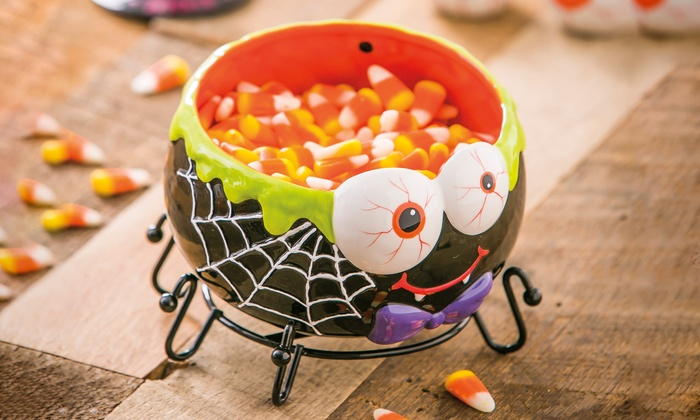 Halloween Candy Bowl | Groupon Goods