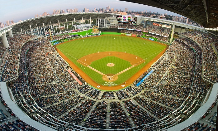 Miami Marlins - Marlins Park: Miami Marlins Opening Night at Marlins Park on March 31st Plus a Future Game. Three Seating Options Available.