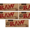 1 1/4 Size Raw Classic Rolling Papers (5-Pack; 50 Leaves Per Pack)