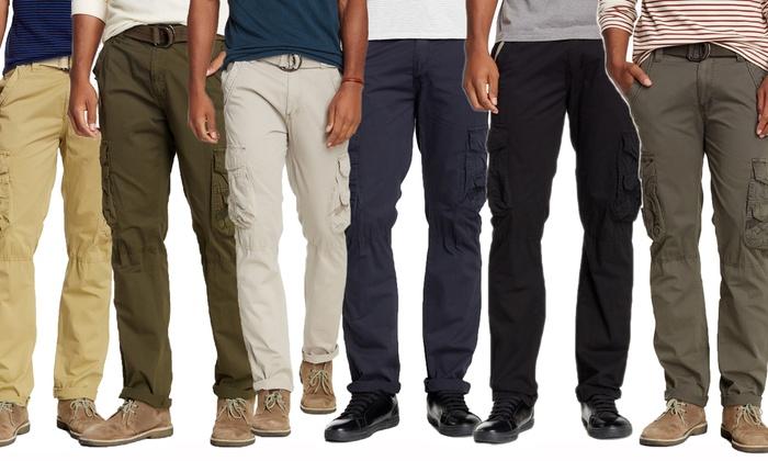 X-Ray Men's Premium Twill Cargo Pants | Groupon