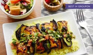Olive Cafe: $18 for $30 Worth of Lebanese Mediterranean Dinner Cuisine at Olive Cafe