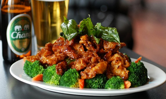 Thai Fusion - North Queen Anne: $12.50 for $25 Worth of Thai Food and Drinks