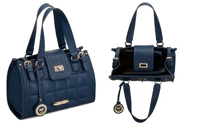 d89220c8 Versace 19v69 Navy Is the New Black Handbag Holiday Collection