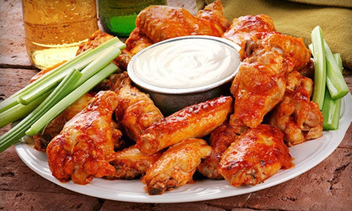 The Great Canadian Wing King - Riverdale East: $11 for 2 Lbs. of Chicken Wings and Two Sodas at The Great Canadian Wing King ($22 Value)