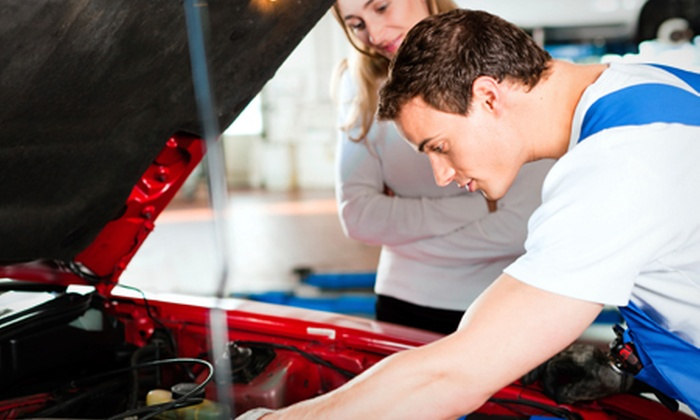 Demo Auto Centre Ltd - London: Service With Oil and Filter Change Plus MOT for £39 at Demo Auto Centre