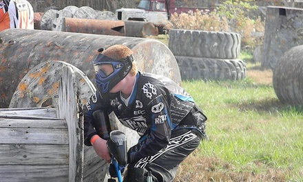 Paintball with Gear for One, Three, or Five People at Swamp Paintball Park (Up to 60% Off)