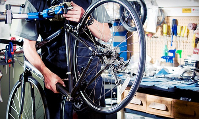 The Bicycle Clinic - Baymeadows Center: Bicycle Tune-Up with Pickup and Drop-Off or Beach-Cruiser Rental for One or Two at The Bicycle Clinic (Up to 63% Off)