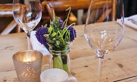 Hot Breakfast For Two or Four from £8 at Old School Stanwick (Up to 47% Off)