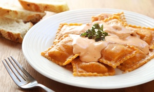 Villaggio Ristorante: Italian Food for Lunch or Dinner at Villaggio Ristorante (Up to 48% Off). Three Options Available.