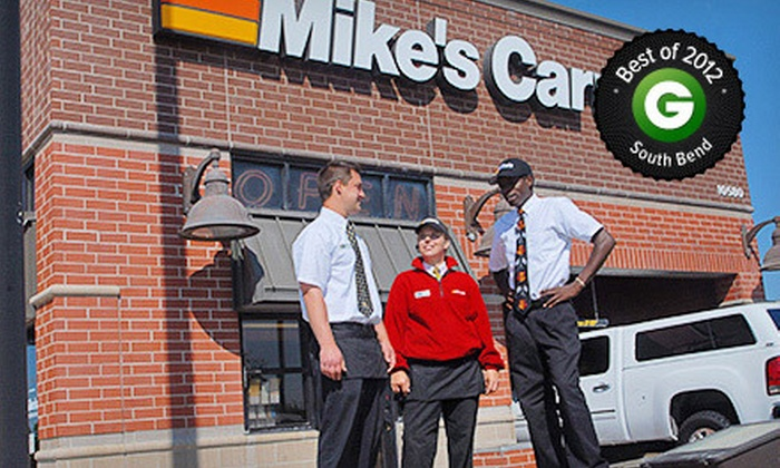 Mike's Carwash - Mishawaka: $21.99 for Three The Works Carwash Packages at Mike's Carwash (Up to $45 Value)