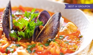 Pasta Cucina: Italian Dinners for Two or Four with Appetizers and Wine at Pasta Cucina (Up to 42% Off). Four Options Available.