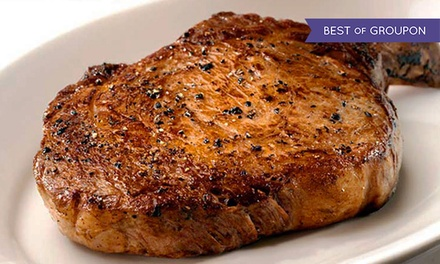 $29 for $50 Worth of Steaks, Seafood, and Pacific-Northwestern Cuisine for Dinner at Portland Prime