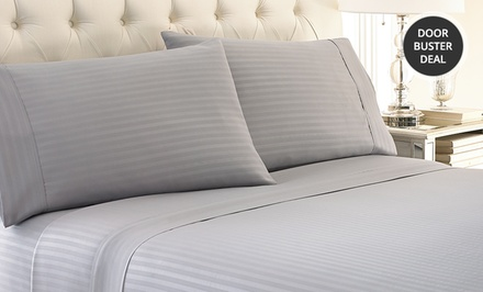 Hotel New York Microfiber Embossed Dobby Sheet Set in Multiple Sizes from $17.99–$24.99. Multiple Colors. Free Returns.