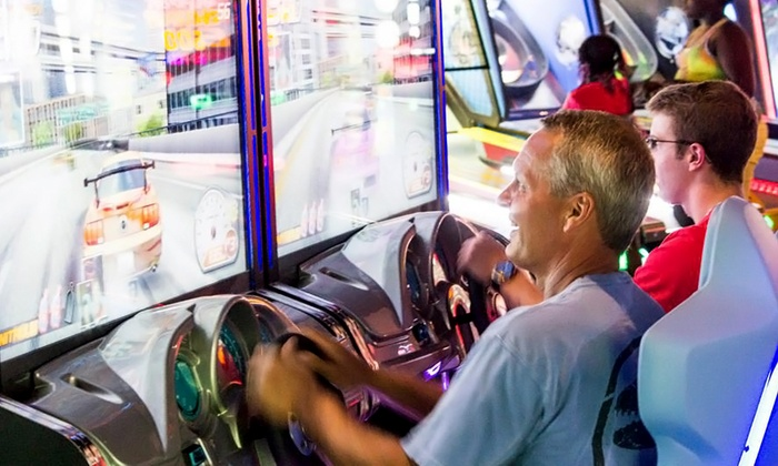Latitude 360 - Castleton: $11 for One Game Card for the Interactive Game Room at Latitude 360 ($20 Value)